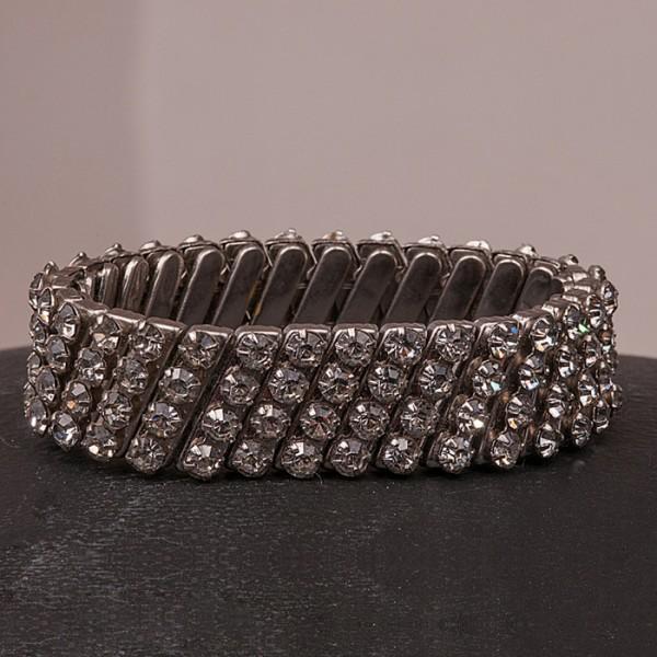 1950s Diamante Expanding Bracelet