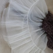 Close_up_brown_and_white_petticoat - detail