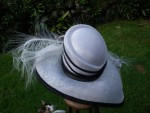 My fair lady hat black and white